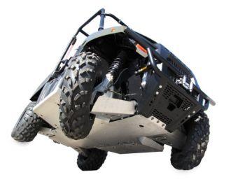 Hasplåt full utrustning - Polaris 400 Räckviddr