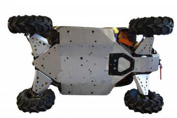 Hasplåt full utrustning- Can-am Maverik 1000