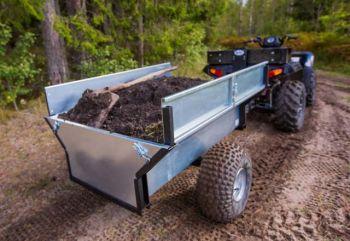 ATV/Quad/Traktor avstjälpnings släpvagn