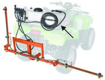 HastighetRack Styrstångs-Monterad Sprayer