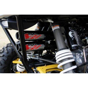 BIG GUN Yamaha YXZ 1000R Dubbel Dämpares/Three Head Pipes