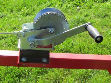 Manuell vinch utrustning för ATV timmerstocks dumper