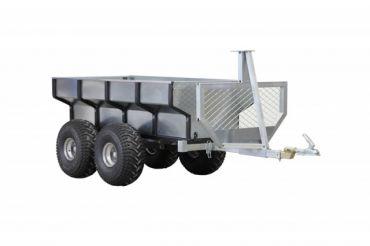 ATV timmervagn + lastbox
