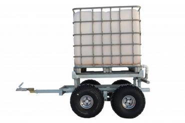 ATV timmervagn + VATTEN TANK KIT (1000L)