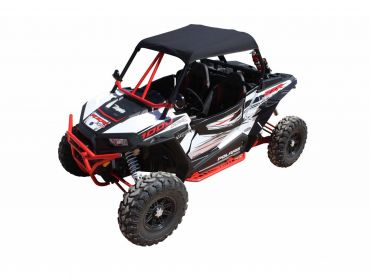 DRAGONFIRE Soft-top svart Polaris RZR1000 XP
