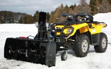 """ATV snöslunga 48"""" (122CM) 14hp Kohler engine"""