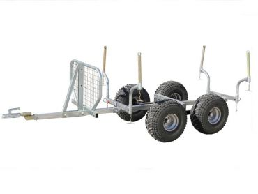 Timmer trailer - 1000kg kapacitet
