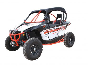 DRAGONFIRE Soft-top svart Can-Am Maverick X DS