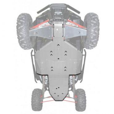 FULL Hasplåt Aluminium - RZR Turbo 2017