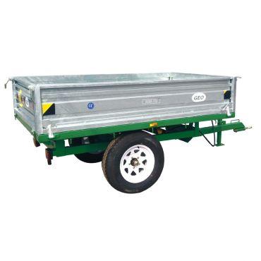 Hydraulisk Tippvagn - 1500kg kapacitet