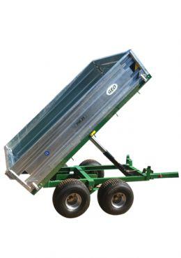 Hydraulisk Tippvagn - 2500kg kapacitet