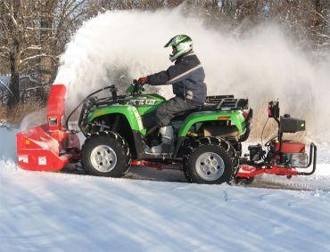 ATV snöslunga med 19HP Briggs & Stratton-motor