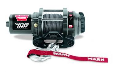 WARN VANTAGE 2000-S CE SYNTHETIC ROPE