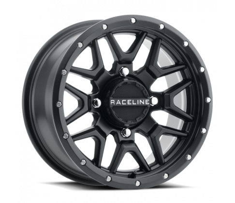 Raceline - SIMULATED BEADLOCK KRANK 14X7 4/156 BRONZE ATV fälg